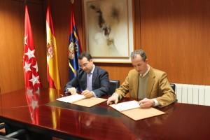 ENEA Grupo - Firma del convenio con el Ayuntamiento de Móstoles 1