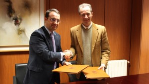 ENEA Grupo - Firma convenio con Ayuntamiento Móstoles